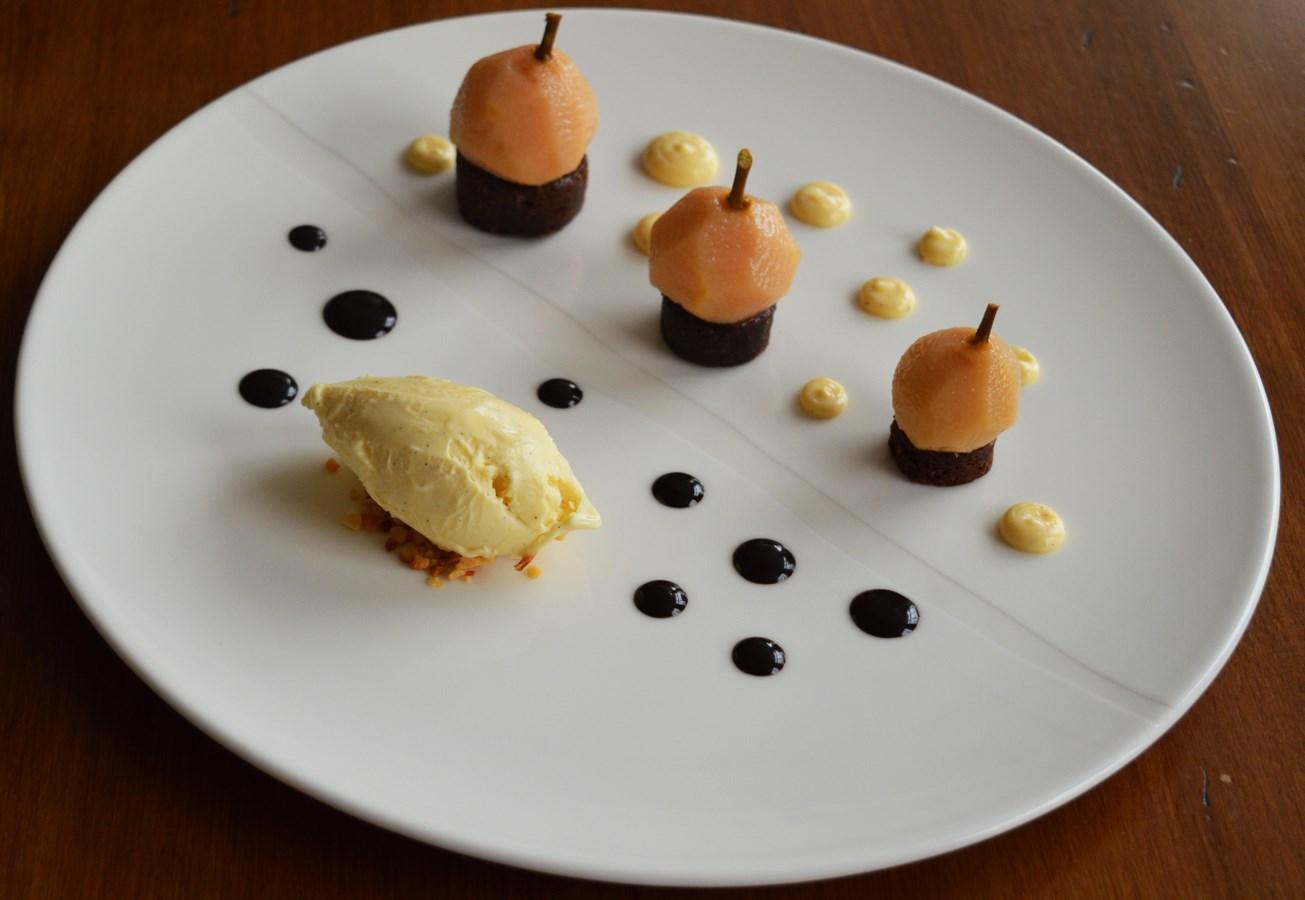 dessert poires Geneve